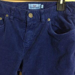 Vineyard Vines Pants - Vineyard Vines Blue Corduroy Pants